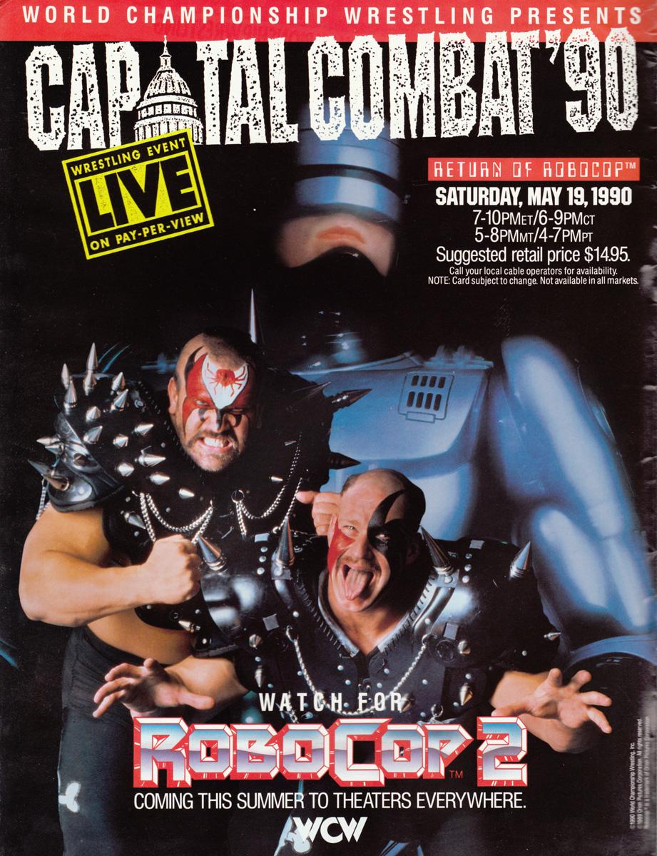 WCW/NWA Capital Combat (1990) - IMDb