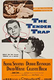 Frank Sinatra and Debbie Reynolds in The Tender Trap (1955)