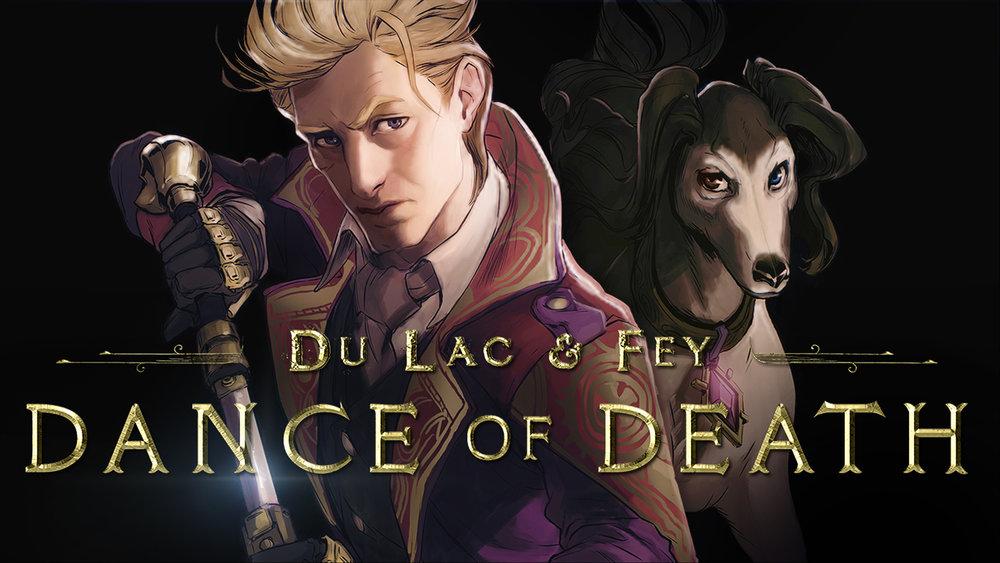 Perdita Weeks and Gareth David-Lloyd in Dance of Death: Du Lac & Fey (2019)
