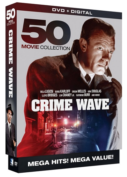 Crime Wave: 50 Movie Mega Pack