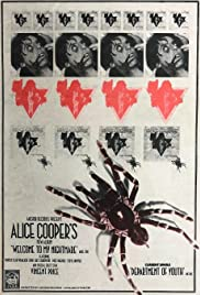 Alice Cooper: Welcome to My Nightmare (1975) Poster - Movie Forum, Cast, Reviews
