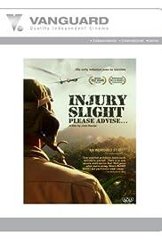 Injury Slight... Please Advise Poster