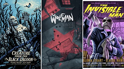 Mondo Universal Monsters and More New Posters gallery
