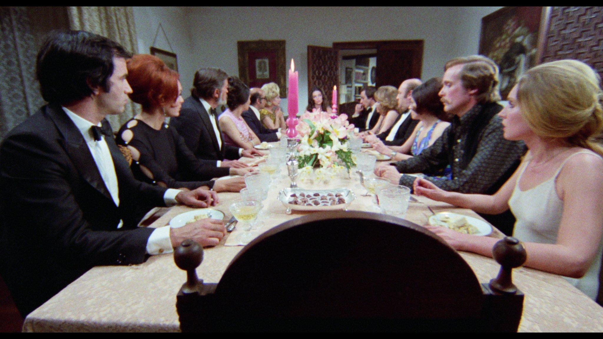 Trini Alonso, Simón Andreu, Paloma Cela, May Heatherly, José María Prada, Patty Shepard, Jack Taylor, and Dyanik Zurakowska in El asesino está entre los trece (1973)