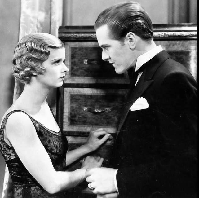 Joan Bennett and Hardie Albright in Hush Money (1931)