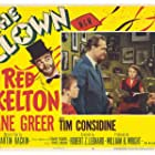 Tim Considine, Ned Glass, Sandra Gould, and Red Skelton in The Clown (1953)