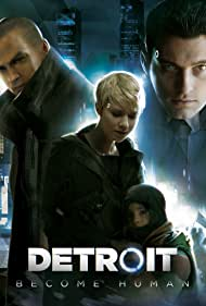 Jesse Williams, Valorie Curry, Bryan Dechart, and Audrey Boustani in Detroit: Become Human (2018)