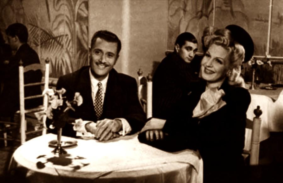 Zully Moreno and Esteban Serrador in Cristina (1946)