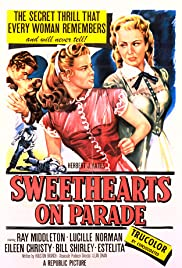 Sweethearts on Parade Poster