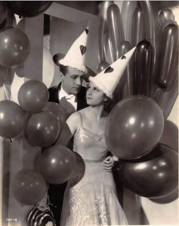 Renee Gadd and Owen Nares in Aren't We All? (1932)
