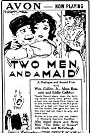 Two Men and a Maid Poster