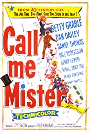 Call Me Mister (1951) starring Betty Grable on DVD on DVD
