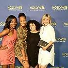 Nefetari Spencer, Marquita Terry, Jessica Jones, and Kristen Miller at the Hollyweb Awards