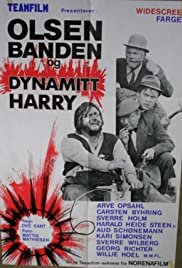 Olsen-banden og Dynamitt-Harry Poster
