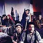 Halit Akçatepe, Metin Akpinar, Zeki Alasya, Perran Kutman, Kemal Sunal, and Meral Zeren in Salak Milyoner (1974)