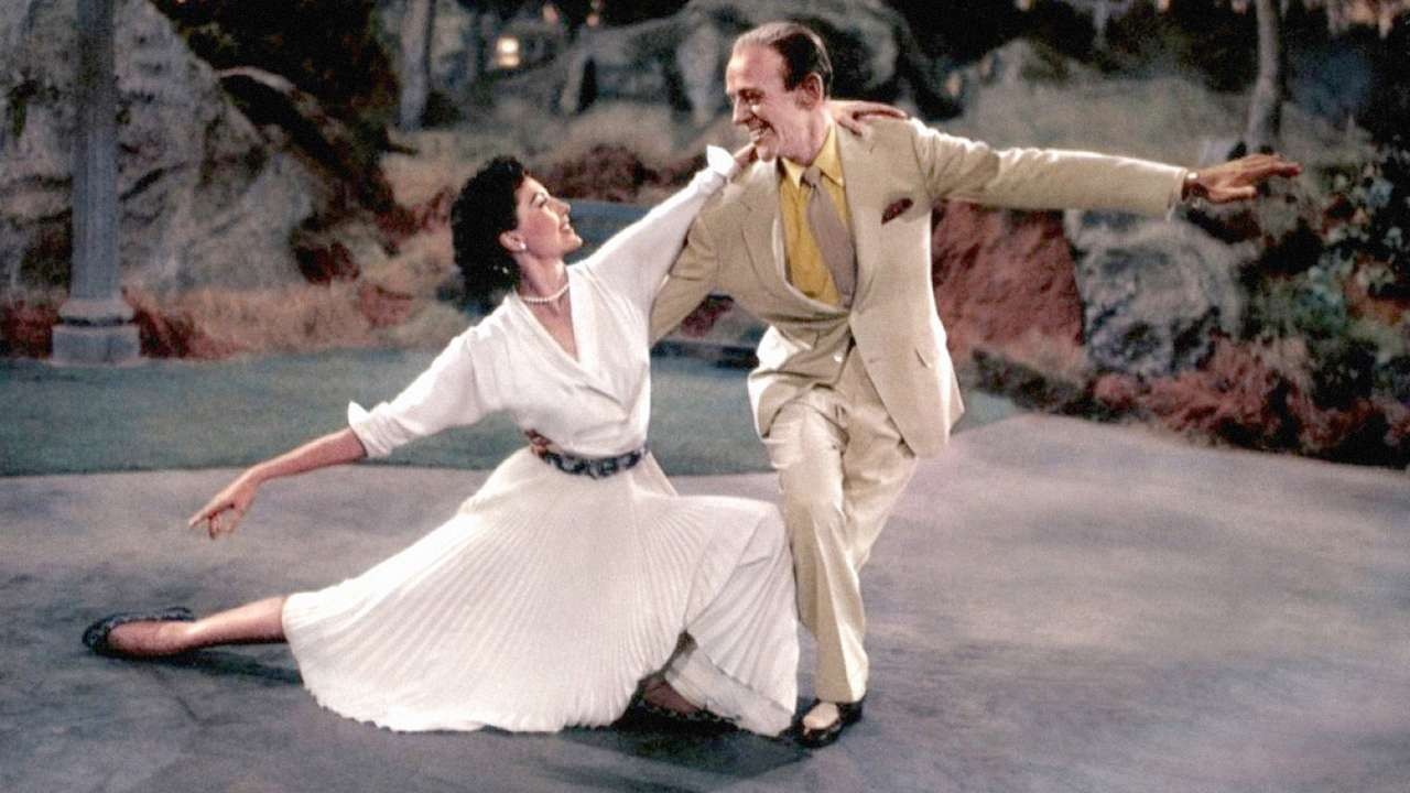 Fred Astaire and Cyd Charisse in The Band Wagon (1953)
