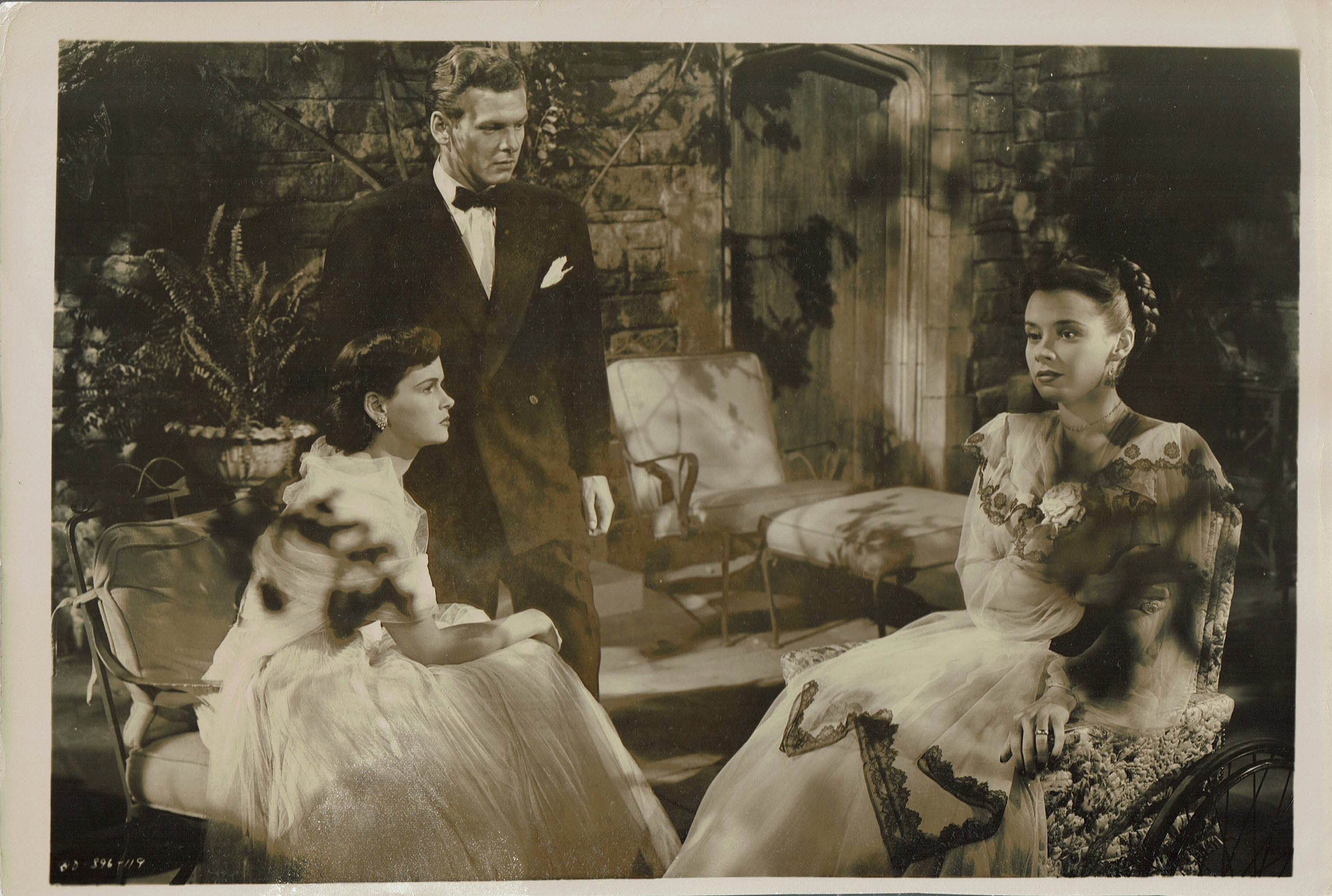 Diana Douglas, Ross Ford, and Susan Peters in The Sign of the Ram (1948)
