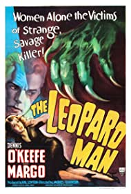 Margo and Dennis O'Keefe in The Leopard Man (1943)