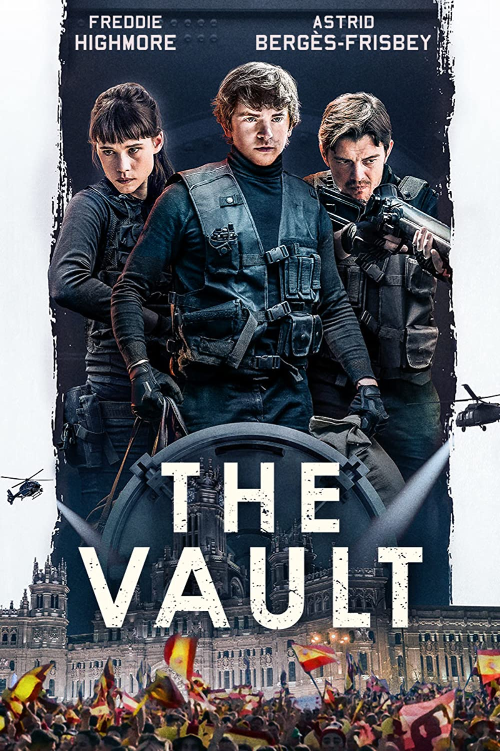 The Vault 2021 English 480p | 720p HDRip 800MB | 370MB Download