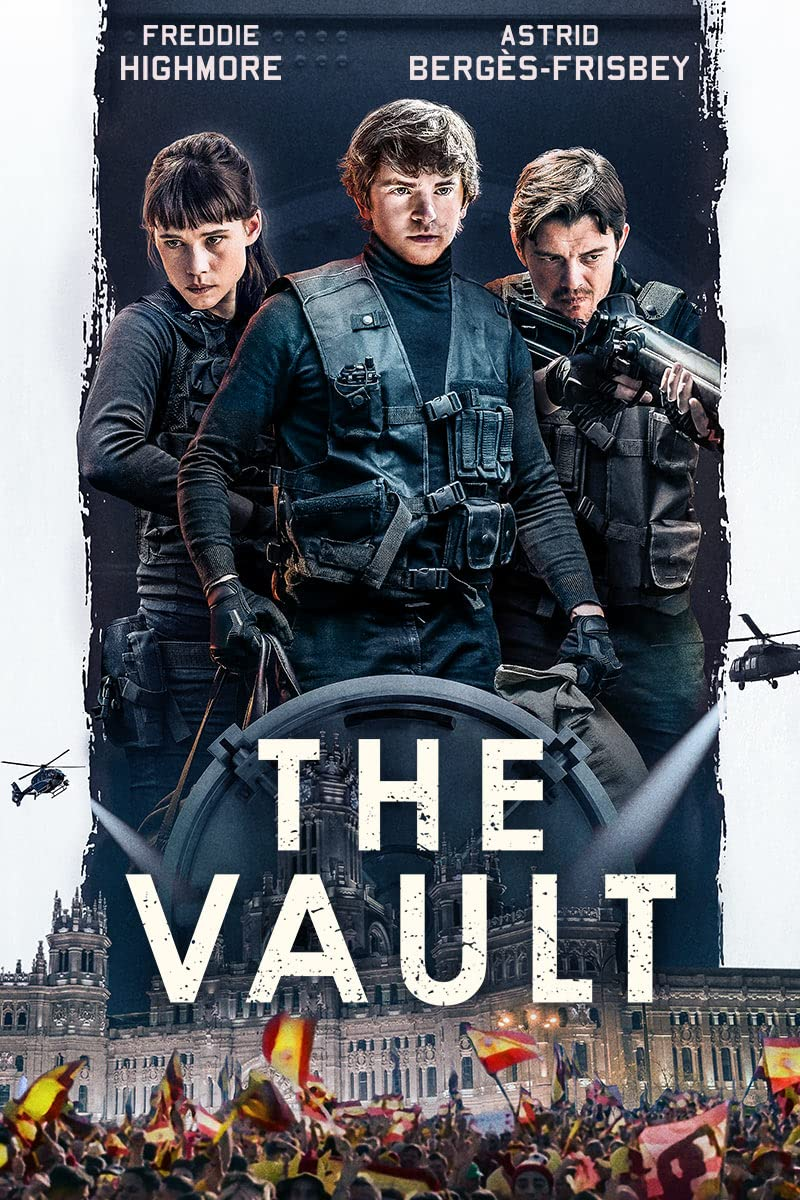 The Vault (2021) Hindi Dubbed