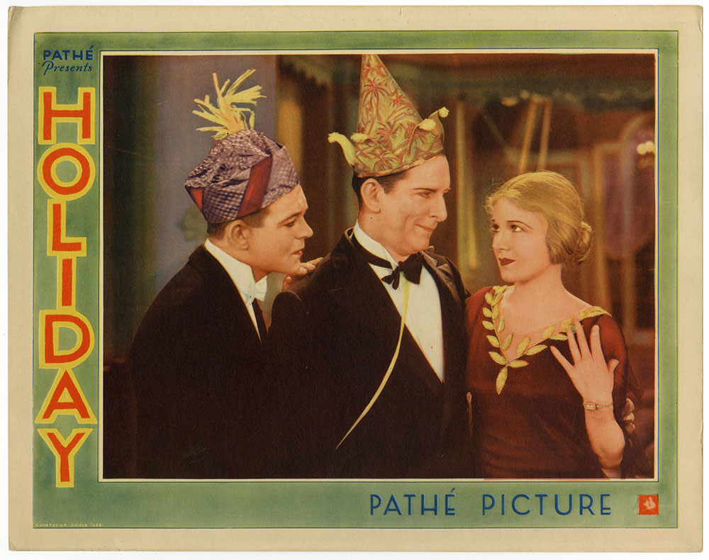 Edward Everett Horton, Robert Ames, and Ann Harding in Holiday (1930)
