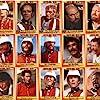 Michael Caine, Stanley Baker, Gary Bond, James Booth, Chief Mangosuthu Buthelezi, etc.