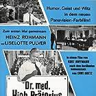 Liselotte Pulver, Heinz Rühmann, Curt Goetz, and Kurt Hoffmann in Dr. med. Hiob Prätorius (1965)