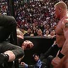 Mark Calaway and Brock Lesnar in WWE Unforgiven (2002)