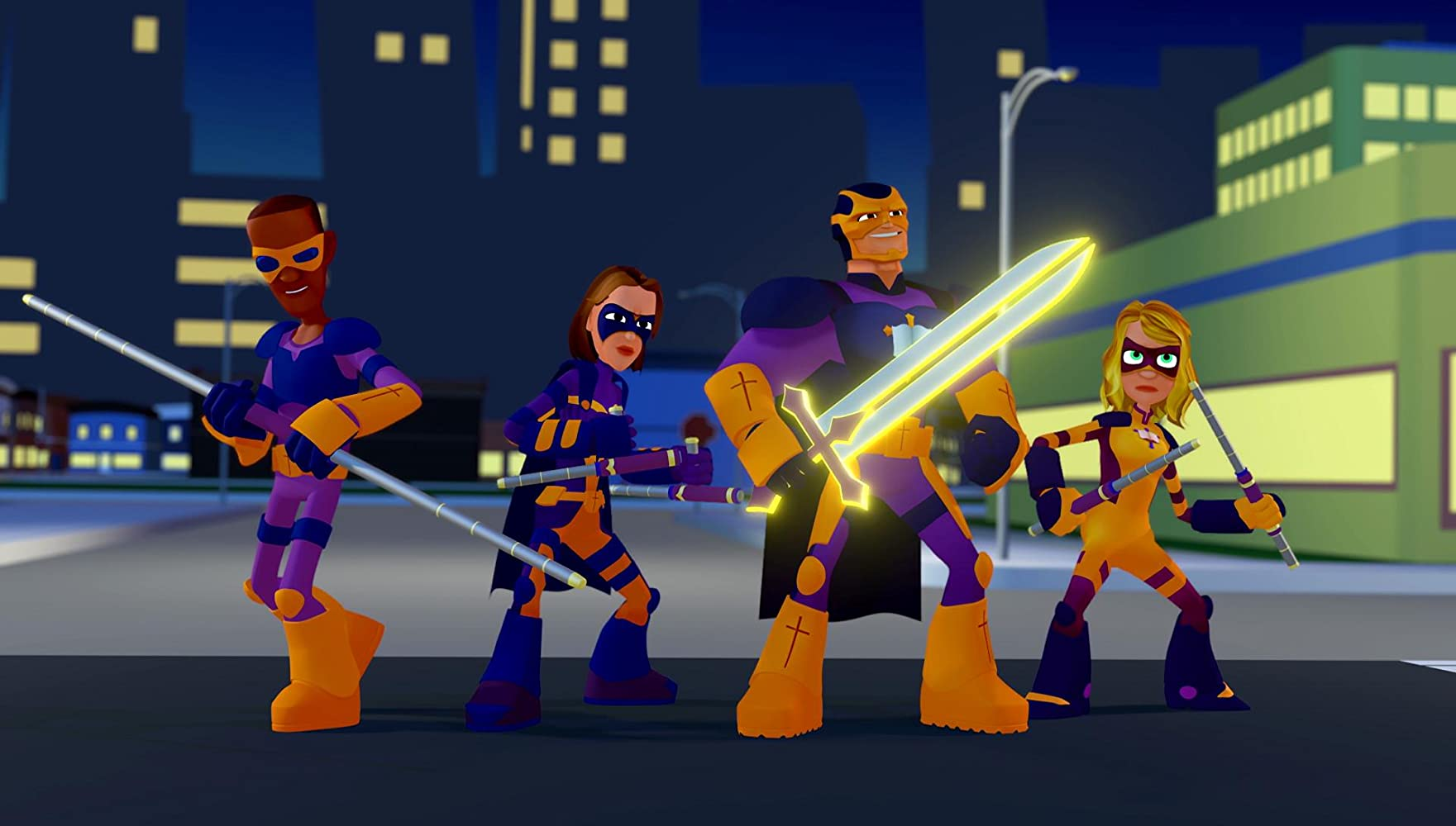 Bibleman: The Animated Adventures (2016-)