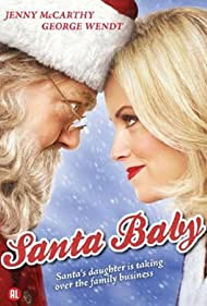 Jenny McCarthy and George Wendt in Santa Baby (2006)