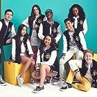 Ky Baldwin, Brianna Mazzola, William B. Simmons II, Gabe De Guzman, Leanne Langston, Jenna Z. Alvarez, Regan Aliyah, and Sean Oliu in Club Mickey Mouse (2017)