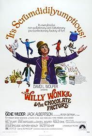 Gene Wilder, Paris Themmen, Jack Albertson, Julie Dawn Cole, Günter Meisner, Denise Nickerson, and Peter Ostrum in Willy Wonka & the Chocolate Factory (1971)