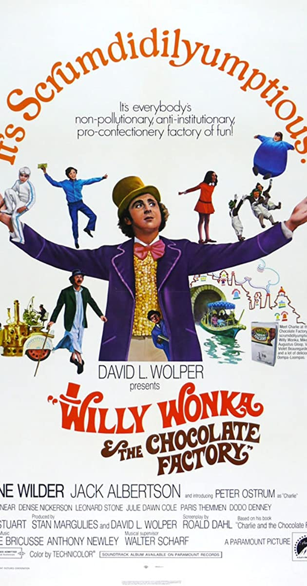 Willy Wonka & the Chocolate Factory (1971) - IMDb
