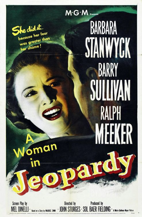 Barbara Stanwyck in Jeopardy (1953)