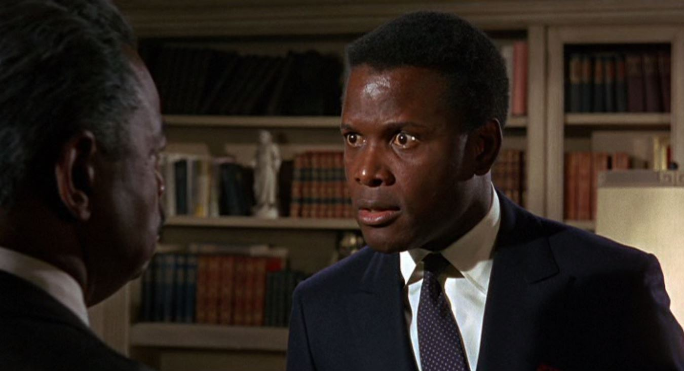 Sidney Poitier and Roy Glenn in Guess Who's Coming to Dinner (1967)