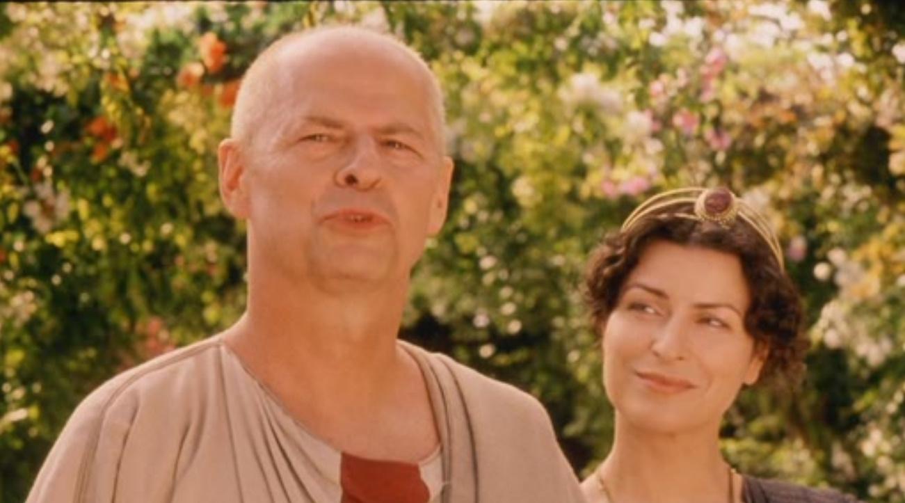 Piotr Garlicki and Danuta Stenka in Quo vadis (2001)