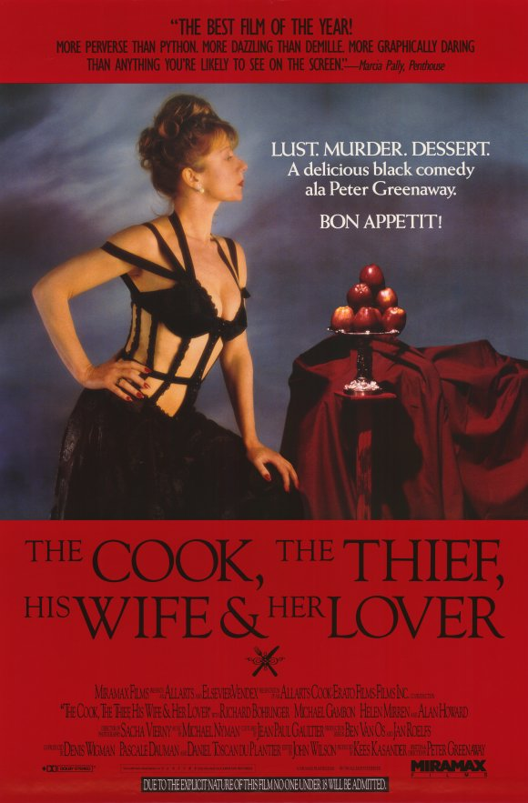 18+ The Cook, the Thief, His Wife & Her Lover 2020 English Hot Movie 720p BluRay 1GB x264 AAC