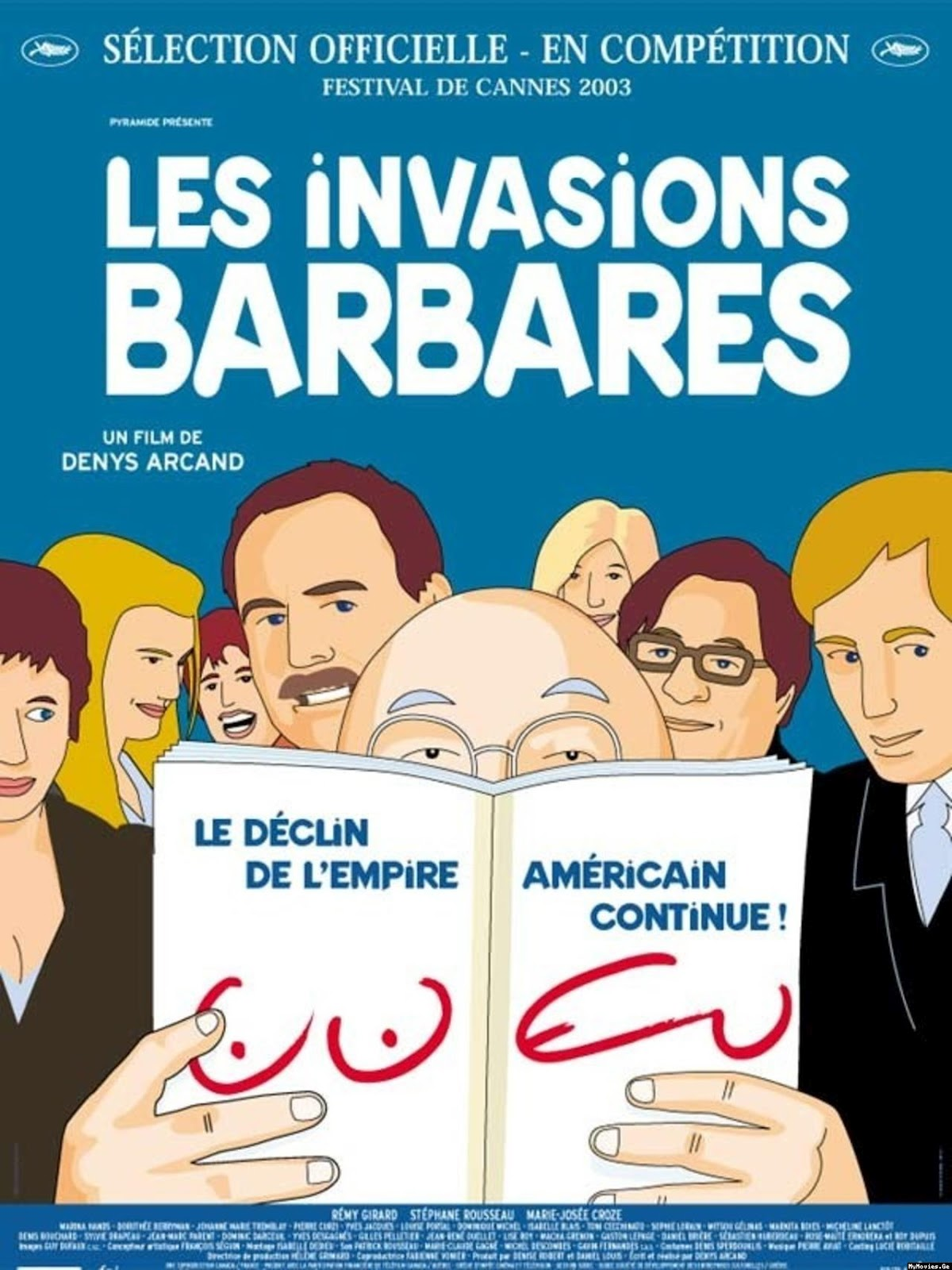The Barbarian Invasions (2003) BluRay 720p & 1080p