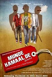 Munde Kamaal De Poster