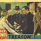 Robert Ellis, Charles Brinley, Shirley Grey, Buck Jones, and Charles Hill Mailes in Treason (1933)