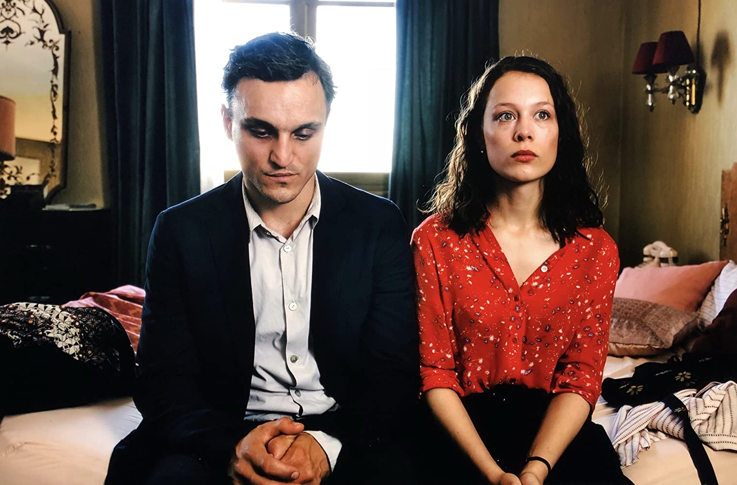 Paula Beer and Franz Rogowski in Transit (2018)