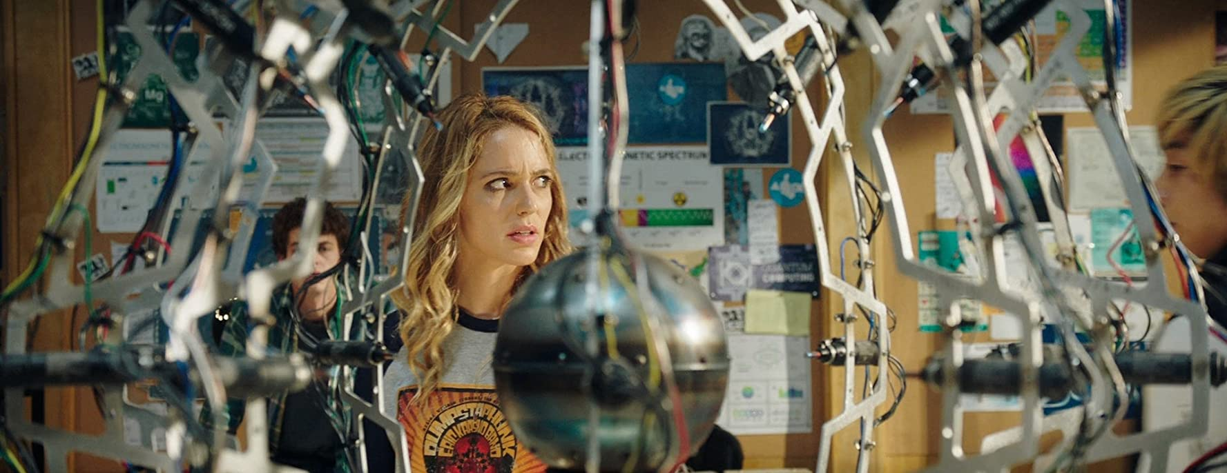 Jessica Rothe and Israel Broussard in Happy Death Day 2U (2019)