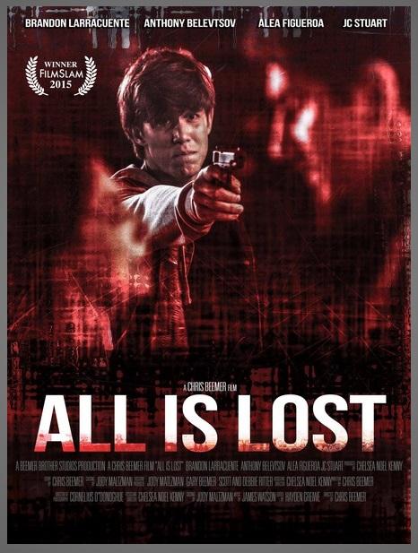 Brandon Larracuente, Anthony Belevtsov, and Alea Figueroa in All Is Lost (2015)