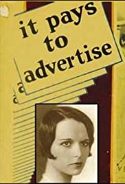 It Pays to Advertise (1931) Poster - Movie Forum, Cast, Reviews