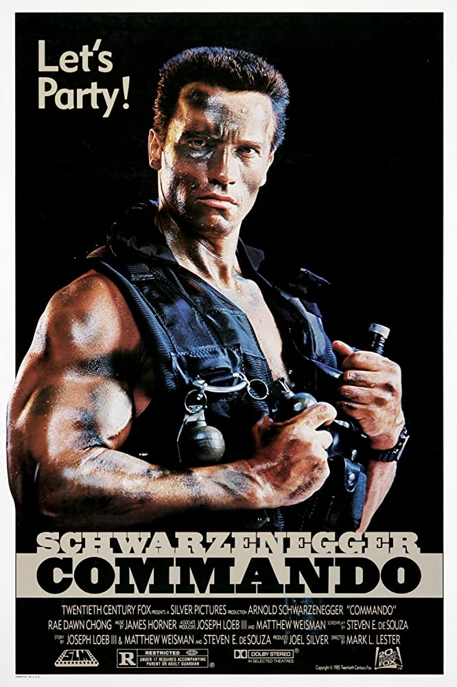 Commando 1985 Directors Cut Hindi Dual Audio 720p BluRay ESubs 700MB Download