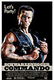 Commando (1985) Poster - Movie Forum, Cast, Reviews