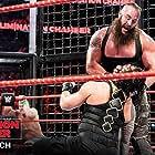 John Cena, Joe Anoa'i, and Adam Scherr in WWE Elimination Chamber (2018)