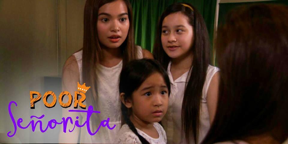 Jillian Ward, Caprice Cayetano, and Ayra Mariano in Poor Señorita (2016)