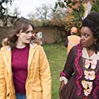Charlotte Ritchie and Lolly Adefope in Ghosts (2019)