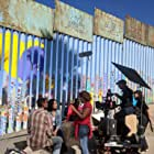 Anike Tourse and cast on the Mexico set of America's Family.